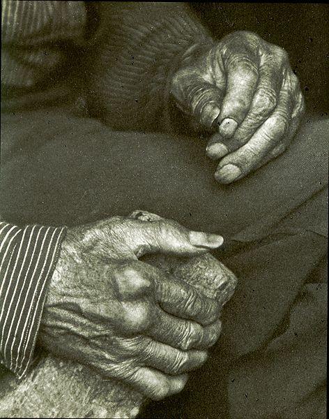 Doris Ulmann  Laborer's hands