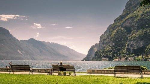 Esoteric wisdom, beautiful landscape