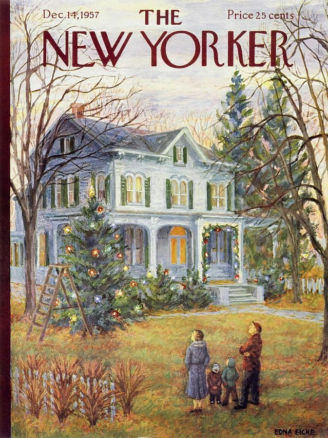 New Yorker Cover with Family - Mailbag questions episode