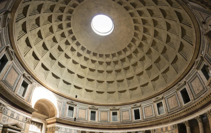 Architecture of the Pantheon - Dome of the Pantheon