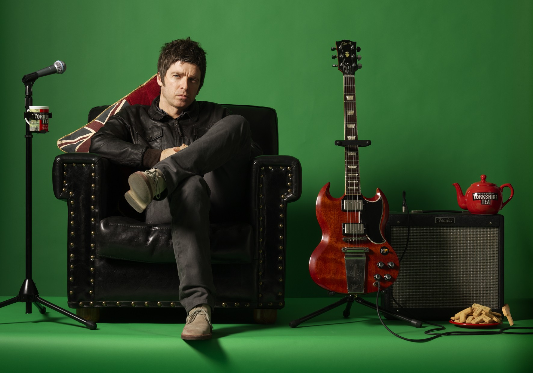 Resultado de imagem para noel Gallagher's High Flying Birds