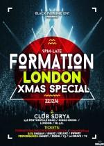 #FormationLDN: Xmas Send Off! – Thursday, December 22 | Events