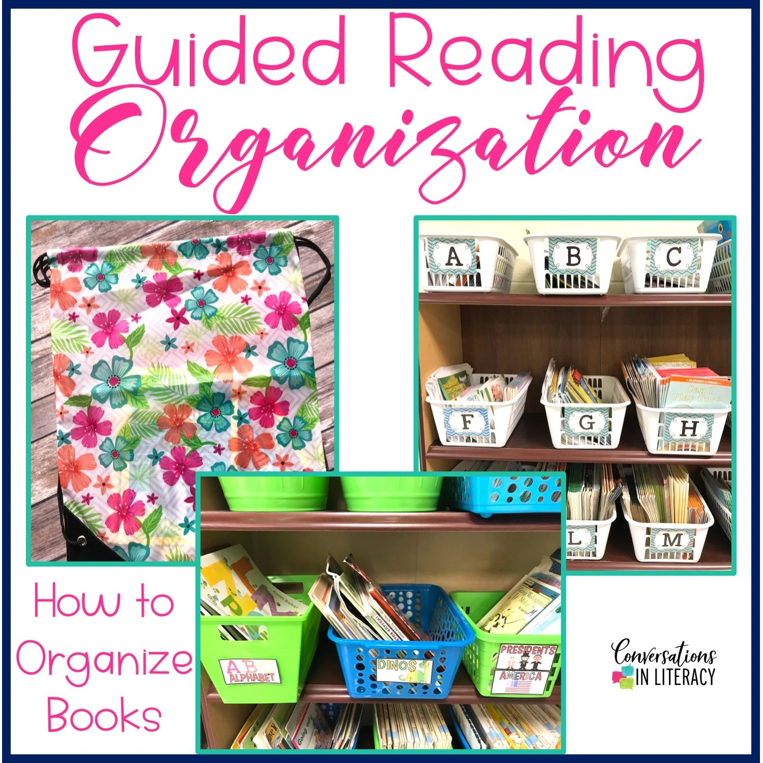 Guided Reading Organization Tips