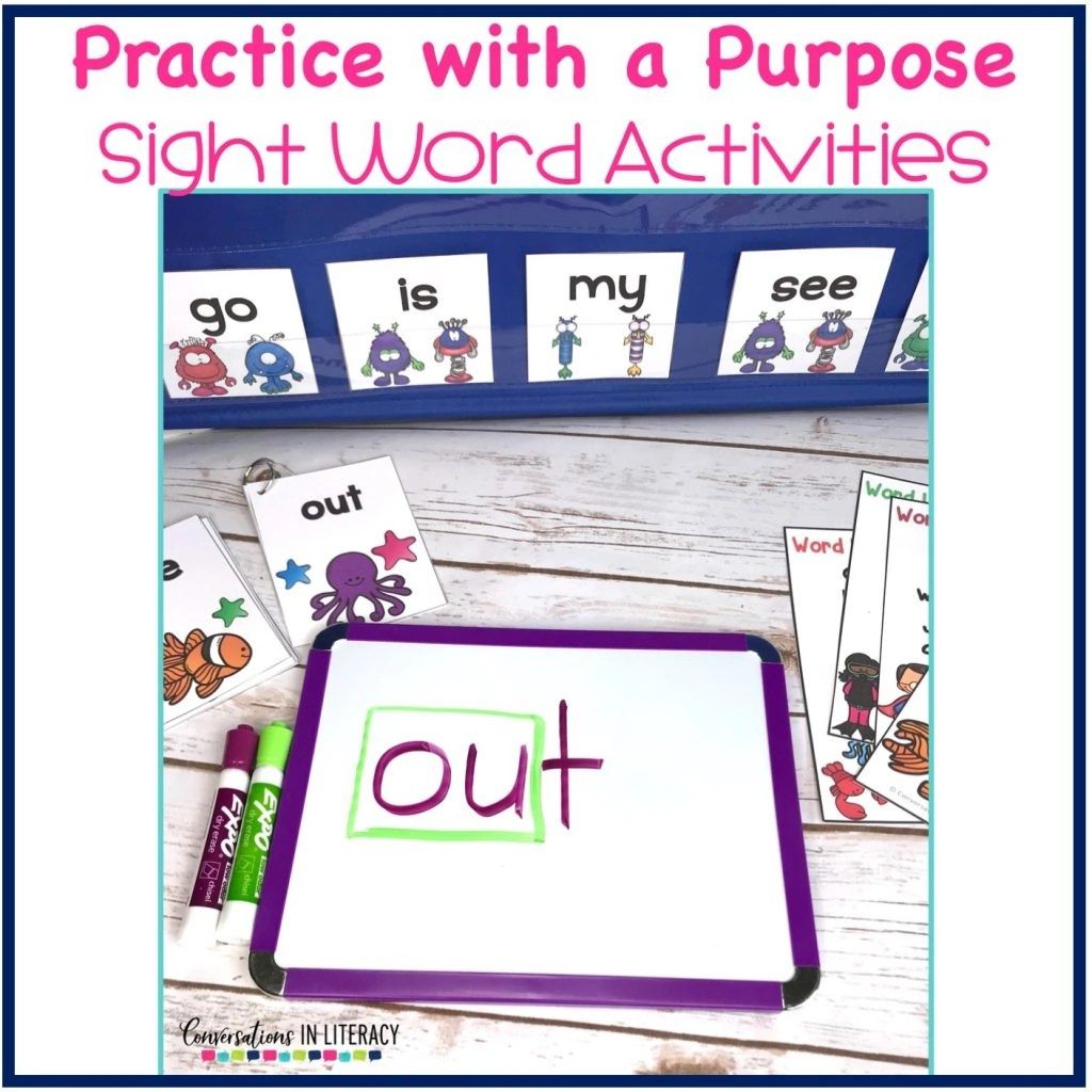 Sight Word Activities Practice With Purpose Simple And