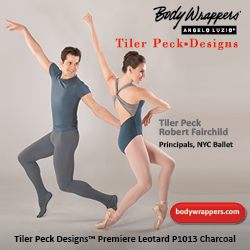body wrappers, tiler peck designs, tiler peck, robbie fairchild, new york city ballet, new york city ballet principals, principal dancers, dance teacher