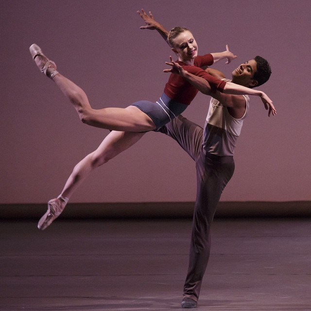 (76) Sara Mearns and Amar Ramasar, New York City Ballet Principals