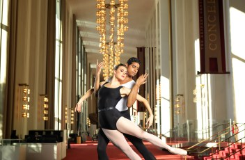 Tiler Peck and Amar Ramasar - The Kennedy Center, photo by Matt Karas