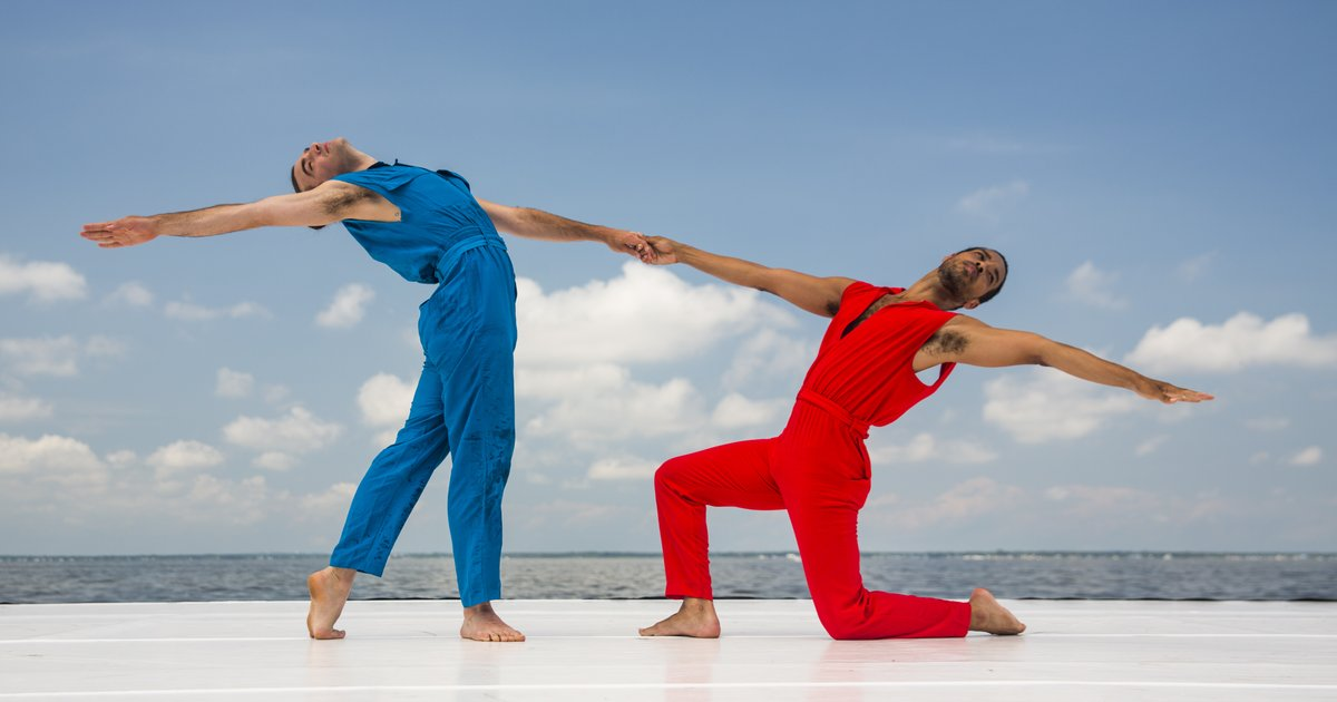 Rashaun Mitchell, Silas Riener, silars and rashaun dance, modern dance, merge cunningham, the joyce theater, choreography, new york city dance, choreographers, modern choreographers, SFMOMA, conversations on dance, miami city ballet, rebecca king ferraro, michael sean breeden, dance podcast, ballet podcast, male dancers,