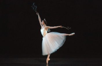 Christine Shevchenko in Giselle. Photo by Rosalie O'Connor - Conversations on Dance