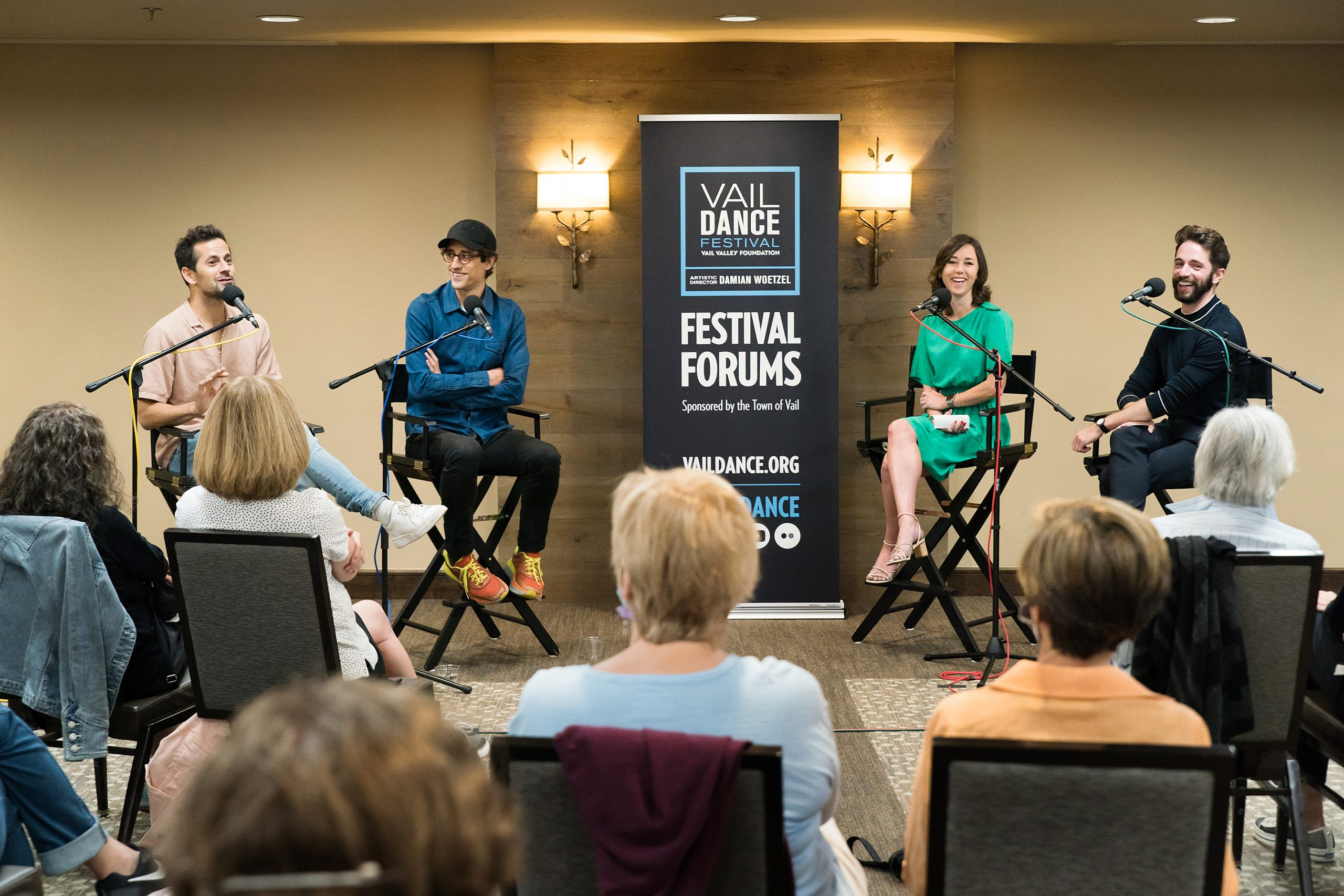 vail dance festival, justin peck, robbie fairchild, conversations on dance, new york city ballet, nycb, broadway, an american in paris, carousel on broadway, cats the musical, west side story, west side story movie, rebecca king ferraro, michael sean breeden, podcast, dance podcast, ballet podcast, ballet, ballerina, choreography, resident choreographer,