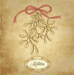 Hanging Mistletoe - Christmas Trivia