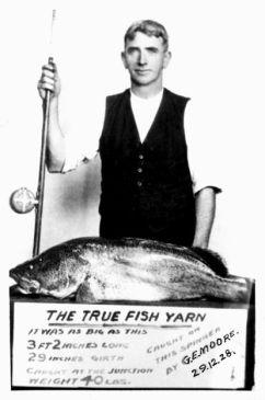 Moore, James Edgar Gordon - trout fishing award 2 - small