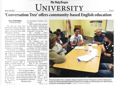 The Daily Targum (April 10, 2014)