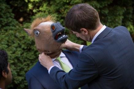 Horses head.