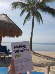 Making Websites Win on the beach.