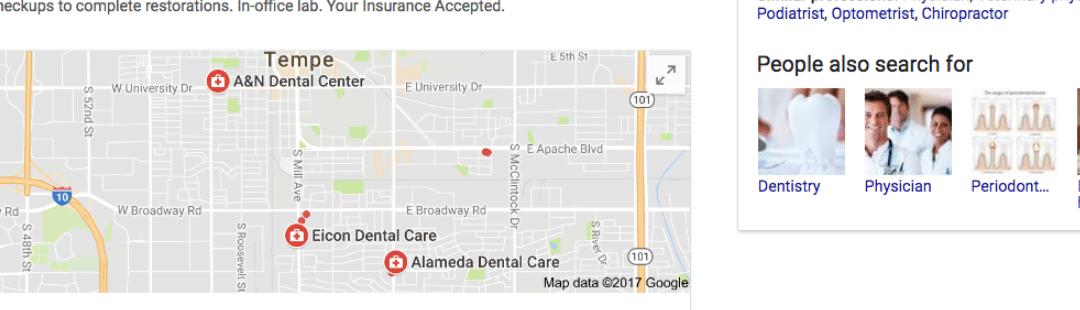dentists google az
