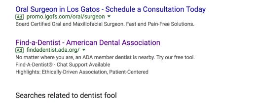 Dentist Fool Image