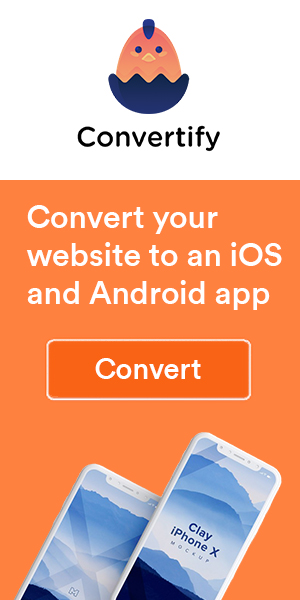 Convert website to an app
