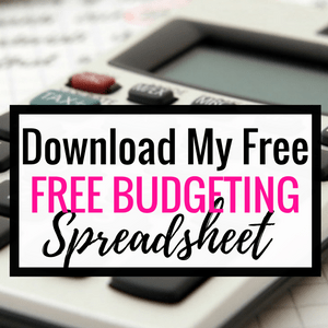 My Favorite Free Budgeting Spreadsheet - Cashville Skyline