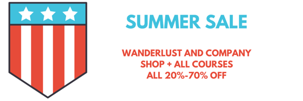 Wanderlust and Company shop
