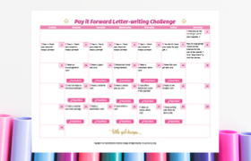 Pay it forward free letter writing challenge kindness is a good thing join the pay it forward challenge thecheapjerseys Images