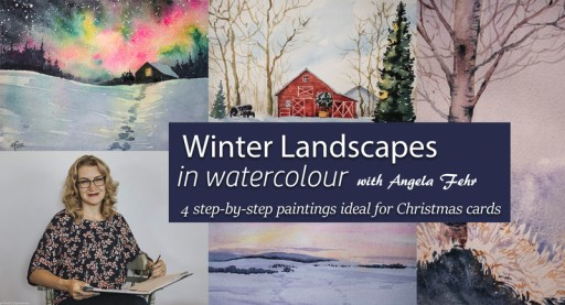 Winter Landscapes: New Mini Course Promo Image