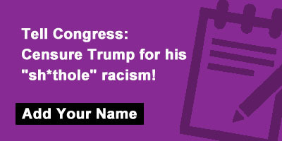 Tell Congress: Censure Trump for his