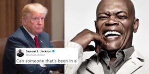 Samuel L. Jackson destroys Trump