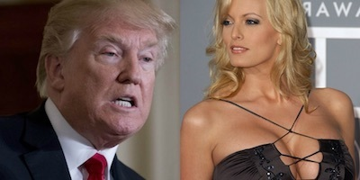 Trump's porn star mistress Stormy Daniels sues him