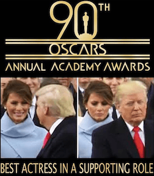 Melania's Oscar Award Winning Performance