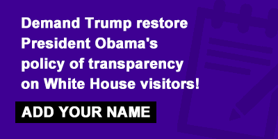 white house transparency