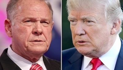 Moore and Trump