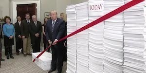Trump's Red Tape