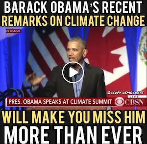 Obama on Climate