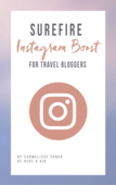 Surefire instagram boost for travel bloggers