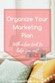 Organize your marketing plan pinterest