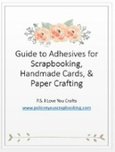 Guide to adhesives cover small