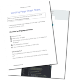 Landing page cheat