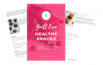 Healthy snack opt in mock up