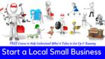 Start a local small business thumbnail teachable