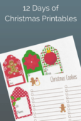 12 days ofchristmas printables email size