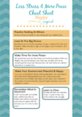 Printable   less stress   more peace cheat sheet 150