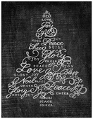 Christmas tree printable 3