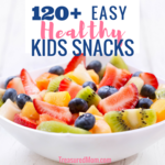 Healthy kids snacks post