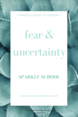Fear uncertainty
