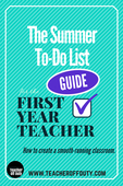 Copy of summer to do list for the first year teacher (1)