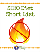 Sibo diet cover