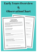 Early years overview observationchart