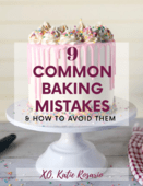 9 common baking mistakes   how to avoid them book cover image