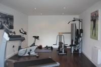 garage turned into gym | anotherhackedlife.com